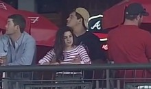 Braves Fan Fondles His Girlfriend's Breasts at Turner Field (Video & GIF)