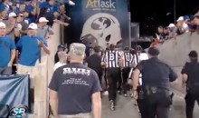 BYU Fans Shower Referees with Garbage After Game, Can't Even Blame Bad Behavior on Beer (Video)