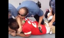 Chiefs Fans Gets Arrested, Tased and Punched by Police (Video)