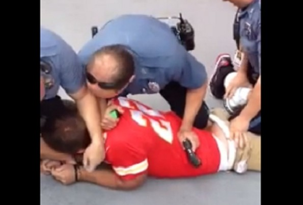 chiefs fan tased