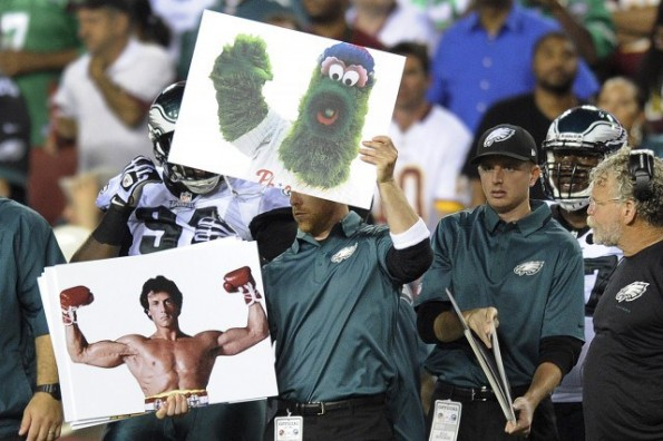 chip kelly flashcards rocky philly phanatic