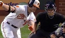 Chris Davis Pulls His Own Version of the Hidden Ball Trick (Video)