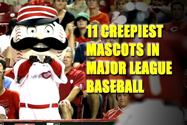 creepiest mascots in mlb (creepy mascots)