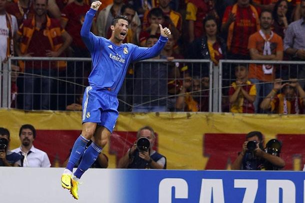 cristiano ronaldo champions league hat trick
