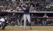 Evan Longoria Blindfolded Himself With His Own Helmet (GIFs)