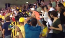There Was Also a Fan Fight at Tuesday's Brazil-Portugal Friendly in Boston (Video)