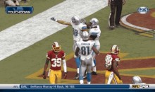 Detroit Lions' Joseph Fauria Celebrates Touchdown With 'N Sync Dance (GIF)