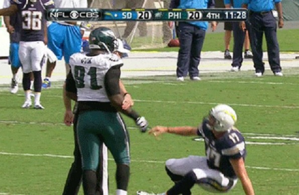 Fletcher Cox Isn T Going To Help Up Philip Rivers Gif