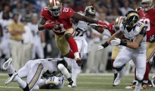 Stat Line of the Night — 9/26/2013 — Frank Gore