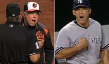 Joe Girardi and Buck Showalter Had a Heated Argument During Yankees-Orioles Game Last Night (Video)