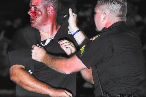 high school football coaches brawl