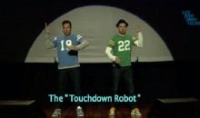 "Jimmy Fallon and Justin Timberlake Perform ""The Evolution of End Zone Dancing"" (Video)"
