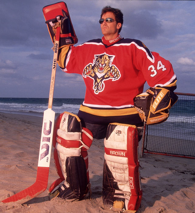 john vanbiesbrouck - weird hockey injuries