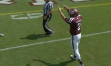 Johnny Manziel Definitely Made the Most of His Half a Game on Saturday (Videos)