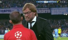 Borussia Dortmund Coach Goes Ballistic on Official During Champions League Loss (GIF)