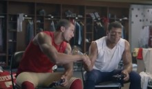 Colin Kaepernick and Russell Wilson Wager an Eyebrow on Sunday's 49ers-Seahawks Game (Video)