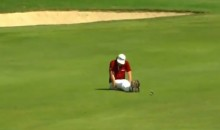 Keegan Bradley Takes 'Dufnering' to Another Level After 170-Yard Eagle at Tour Championship (Video)