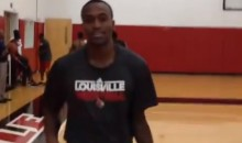Six Months After Breaking His Leg in Half, Kevin Ware Is Back on the Court—and Dunking (Video)