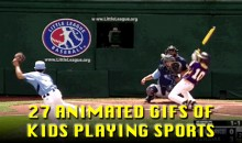 27 Animated GIFs of Kids Playing Sports