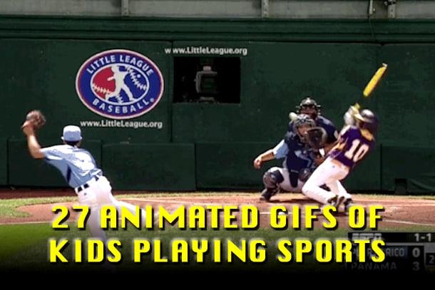 kids sports gifs