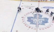Leafs-Sabres Line Brawl Highlighted by Goalie Fight Between Miller and Bernier (Video)