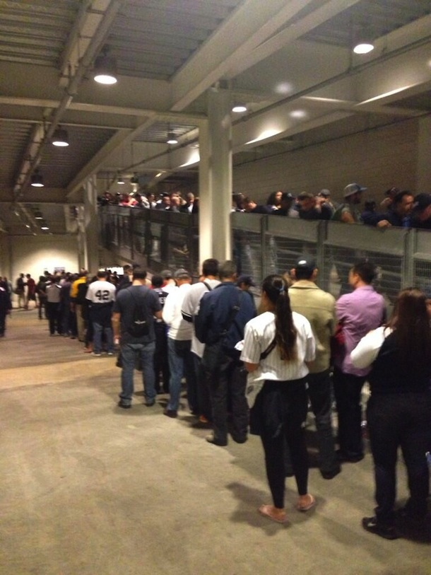 lineups for mariano rivera bobbleheads