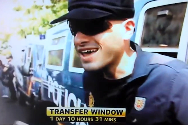 madrid cop has no idea who gareth bale is