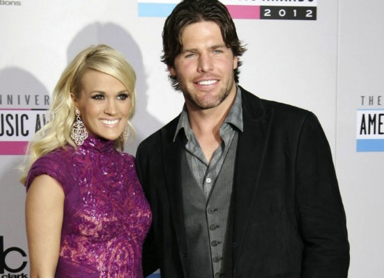 mike fisher and carrie underwood - weird hockey injuries