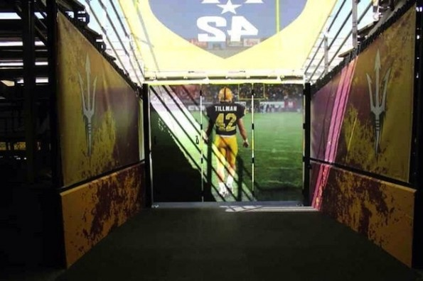pat tillman entrance tunnel sun devil stadium