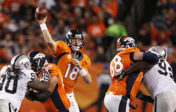 peyton manning vs raiders