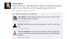 NFL Quarterbacks Conversation on Facebook: Let the Regular Season Begin!