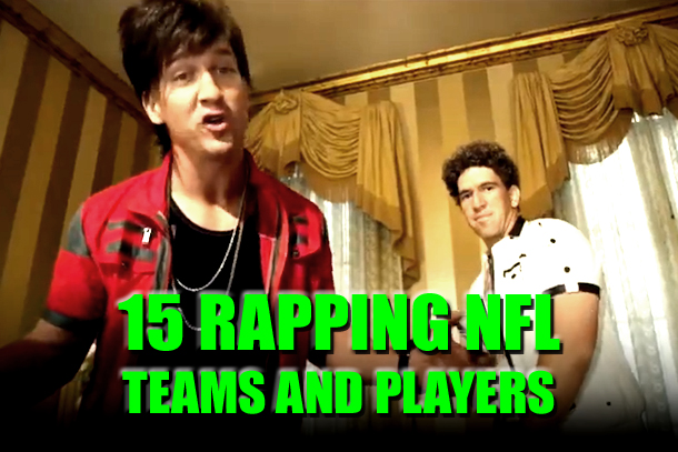 rapping nfl teams and players