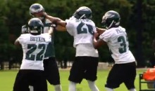 Riley Cooper and Cary Williams Involved in Scuffle During Eagles Practice (Video)