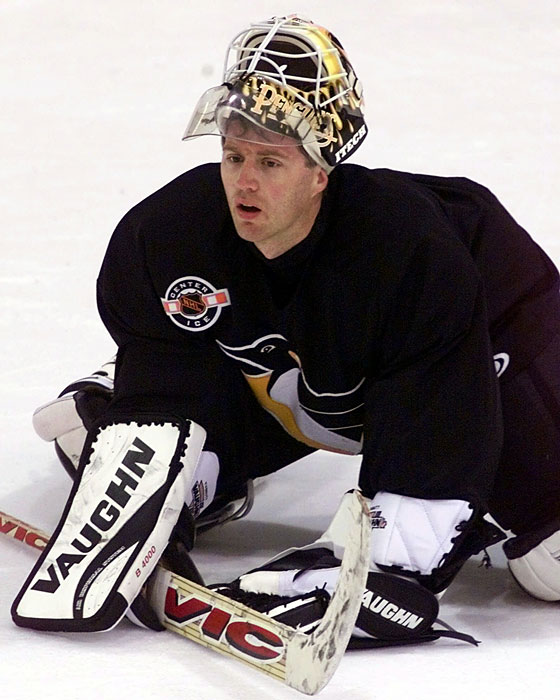 ron tugnutt - weird hockey injuries