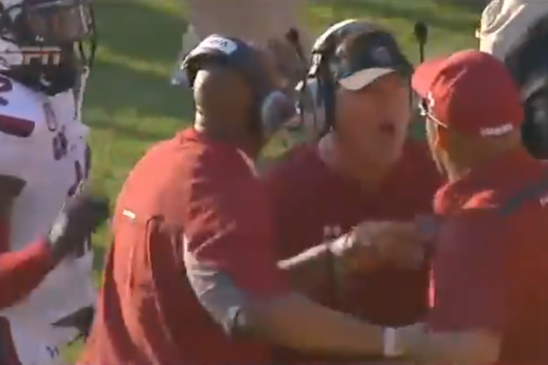 south carolina coaches fighting amongst themselves