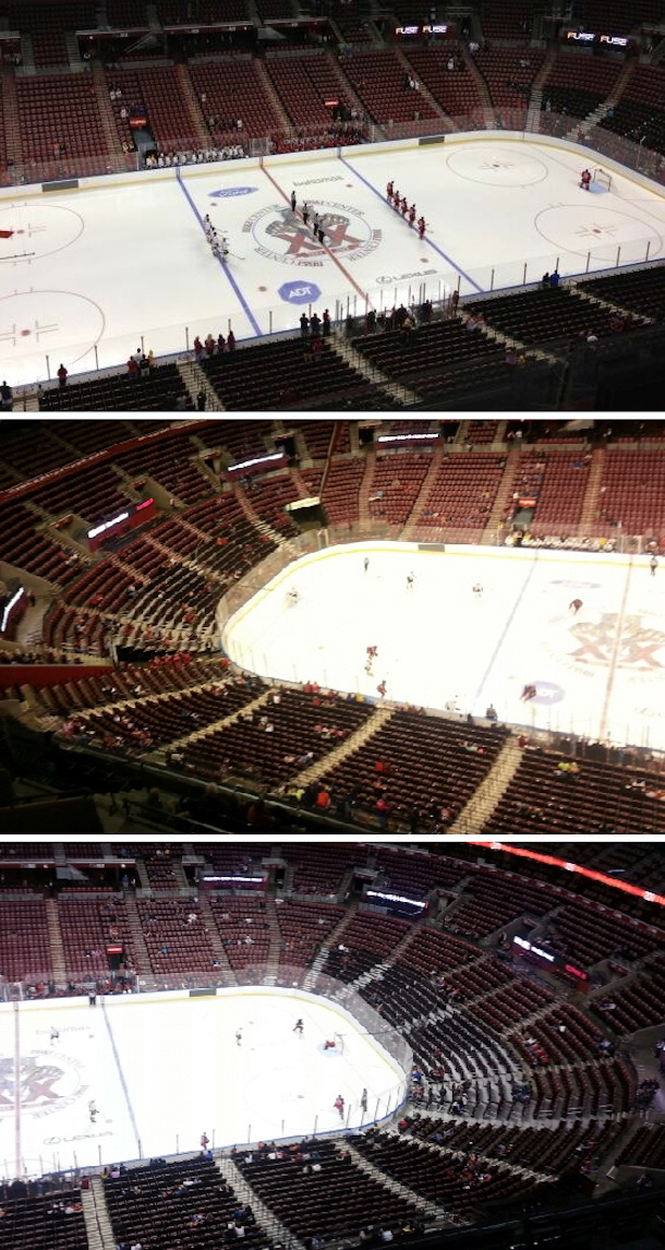sparse attendance at florida panthers game