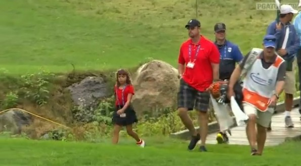 tiger woods daughter matching outfit