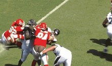 Tyson Jackson is the First Depantsing Victim Of the 2013 NFL Season (GIF)