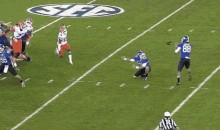 Kentucky Actually Scored a Touchdown against Florida—on a Fake Field Goal (GIF)