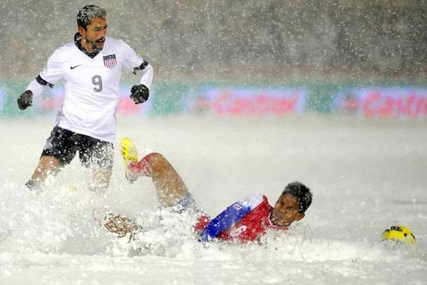usa vs costa rica snow game