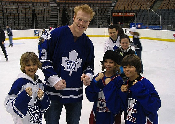 wade belak - weird hockey injuries