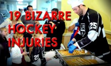 19 Bizarre Hockey Injuries