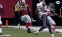 Watch Falcons' Safety William Moore Body-Slam Rams TE Mike McNeil from Two Different Angles (GIFs)