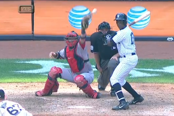 yankees red sox walk-off wild pitch