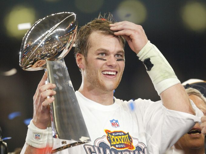 1 tom brady super bowl xxxviii patriots panthers - best tom brady 4th quarter comebacks