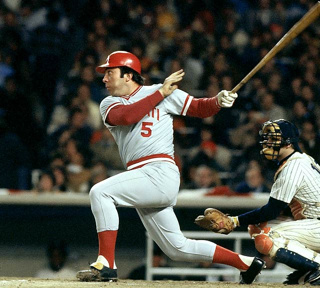 10 1976 world series - reds vs yankees - world series rematches