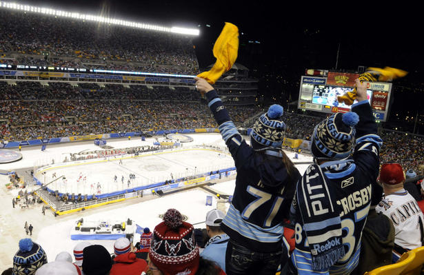 13 winter classic heintz field 2011 - weird sports venues