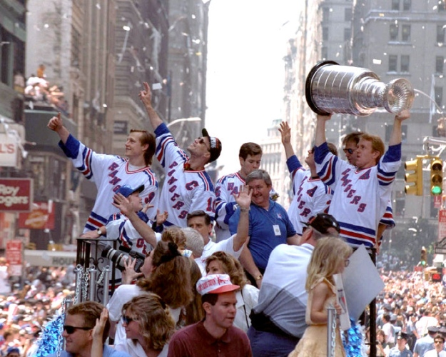 1994 New York Rangers - stanley cup finals hangovers