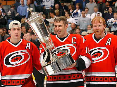 2002 Carolina Hurricanes - stanley cup finals hangovers