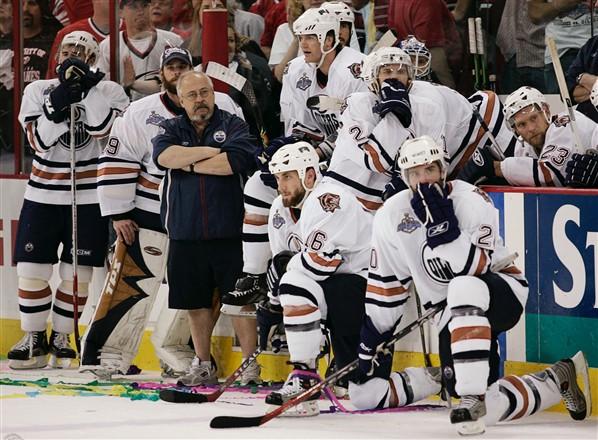 2006 Edmonton Oilers - stanley cup finals hangovers